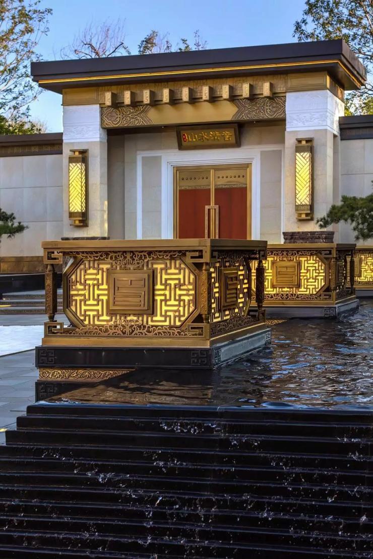 北京泰禾·金府大院新品叠拼入市,实力缔造新中式府院范本