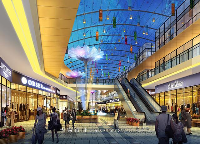 天霸设计有实力带来具性价比优势的哈尔滨商贸城设计作品
