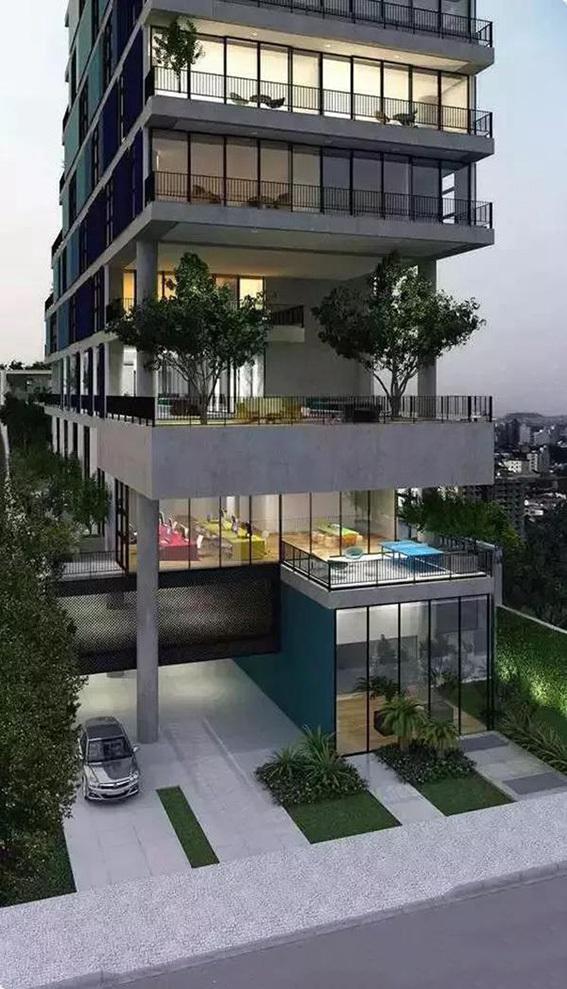 清华设计:第四代住房—空中城市森林花园一览
