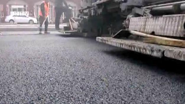 临汾规划四街(规划七街—景观大道)道路改造工程竣工在即