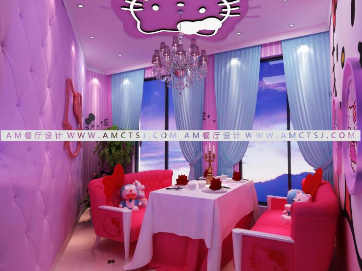 情侣主题餐厅设计 打创与众不同的神秘与浪漫
