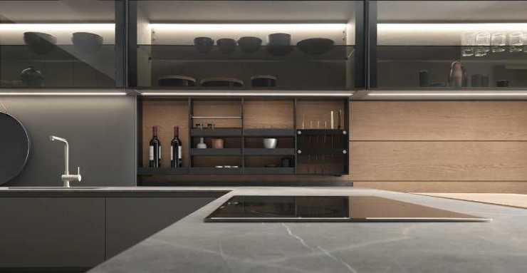 在厨房如何合理设计不锈钢柜体