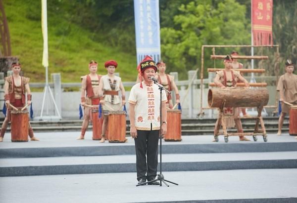 2018年祭祀袍隆扣大典在五指山市隆重舉行