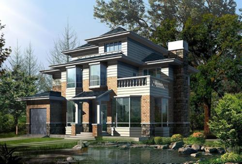 独栋别墅设计效果图片图片
