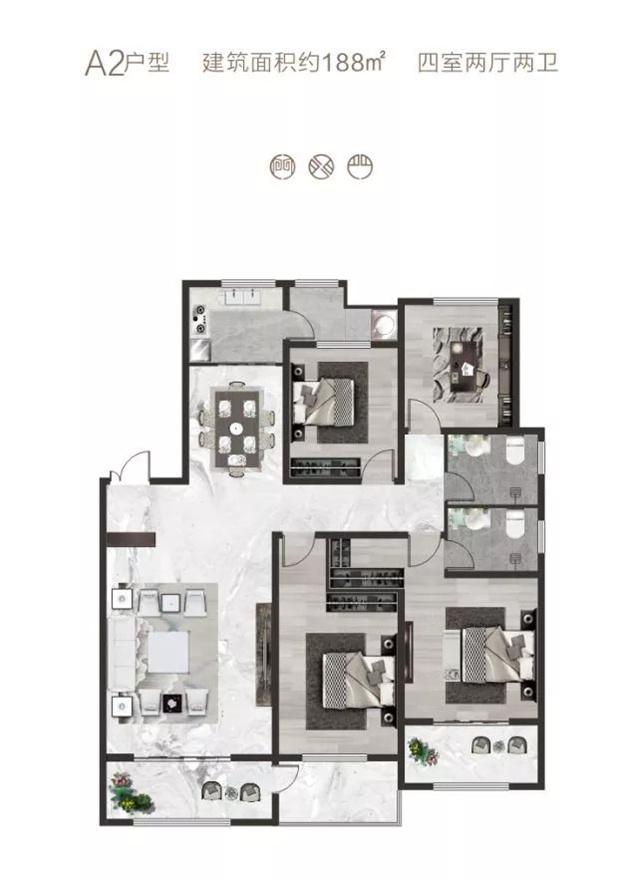 【崛起·尚合府】成就舒适洋房生活|一座花园洋房,涵养三代同堂