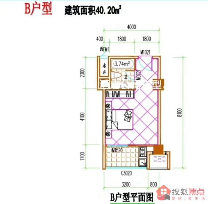 海纳百川项目2、3#楼在售房源:均价7700元/平米