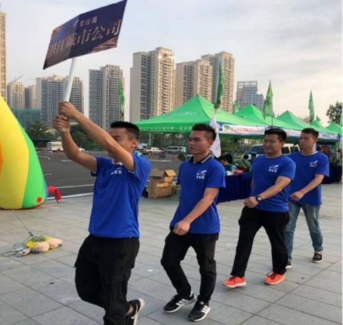 碧桂园江中区域湛江:志愿服务倾情助力第五届环雷州半岛骑行活动