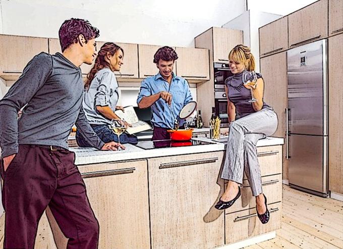 开放式厨房——中国式家庭社交新空间