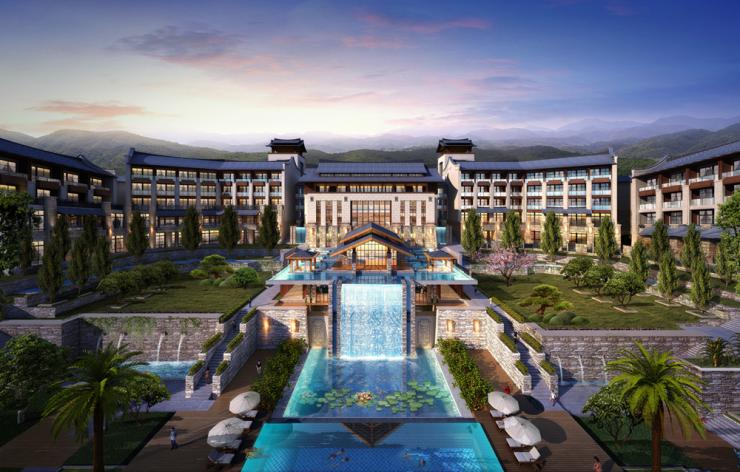 汇景希尔顿度假酒店启动,雁湖引领衡阳新方向
