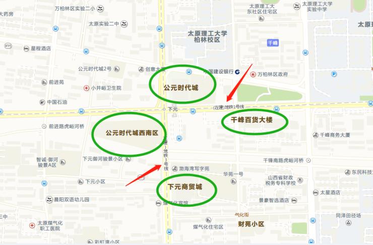 太原河西片区的第一个商圈,你知道是哪个?