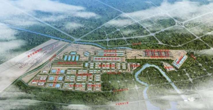 广西规模较大的铁路物流中心今日启用 年吞吐量惊人