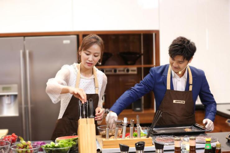 """歐派櫥柜戰略重磅升級,田亮葉一茜助陣展示""""夢想廚房"""""""
