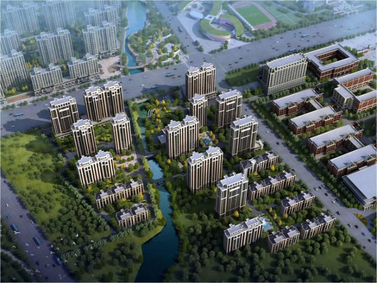 浩博博世园开工庆典举行 临城1700亩人文教育大盘定鼎新城!