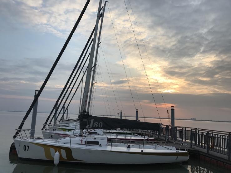 扬帆起航共建水岸城市新文化 2018首届苏州市帆船联赛第一站
