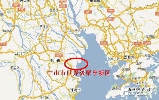 翠亨新区起步区规划出炉 拟建271公顷特色居住组团