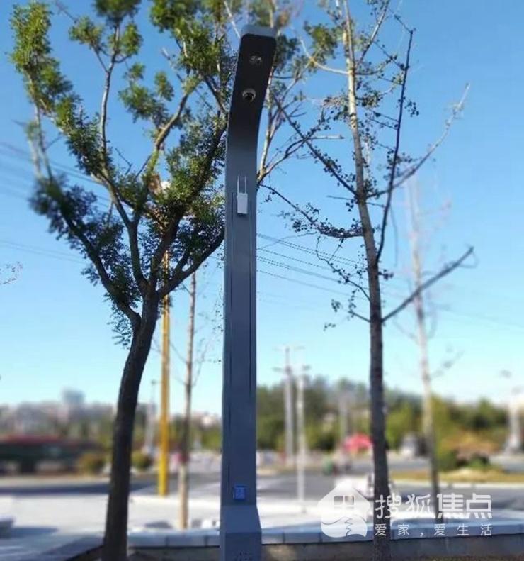 资讯 | 能充电、带WIFI的智能路灯 亮相聊城高新区