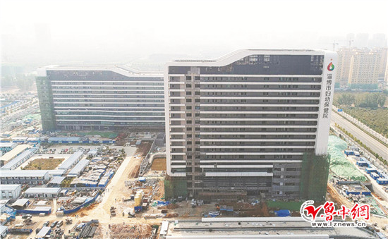 室内精装全面展开 淄博市妇幼保健院新院区年底启用