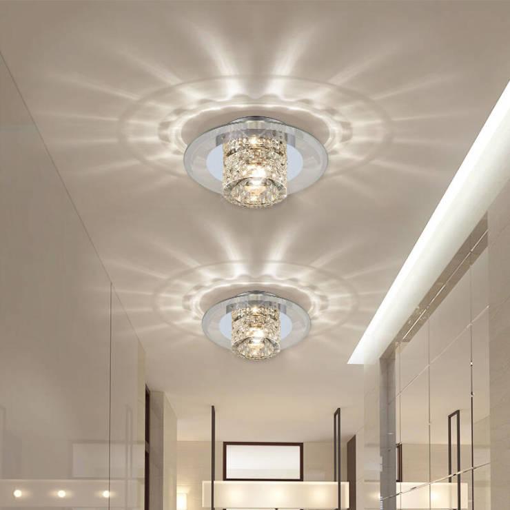 水晶过道灯安装方法介绍