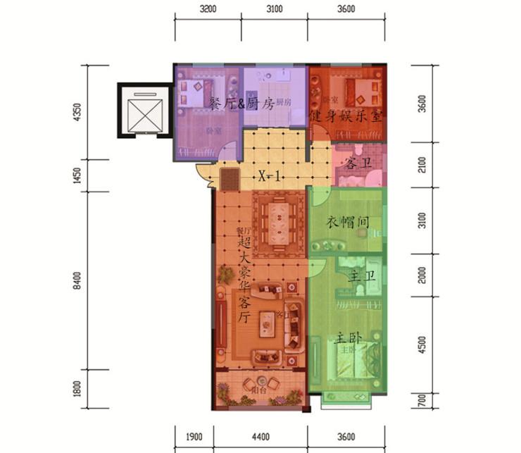 兰石·豪布斯卡167平米4居室大户型解析 想买房的看完再去买