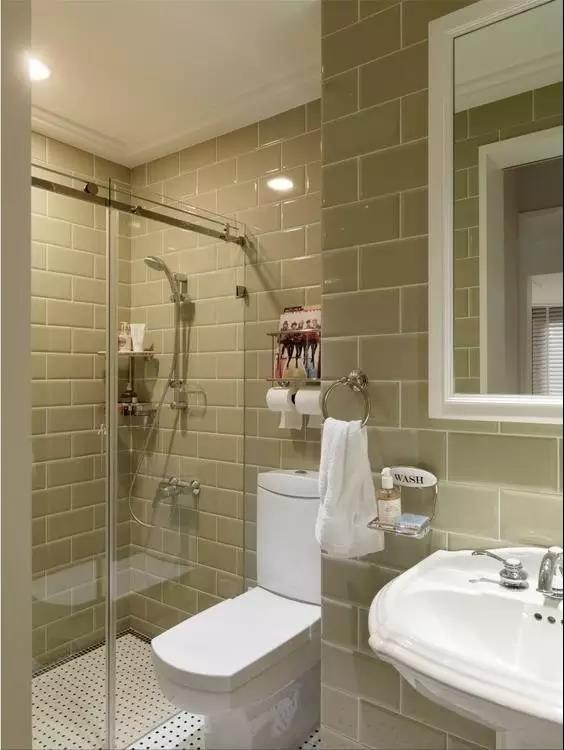 卫生间要有一个淋浴间,你想清楚了吗?