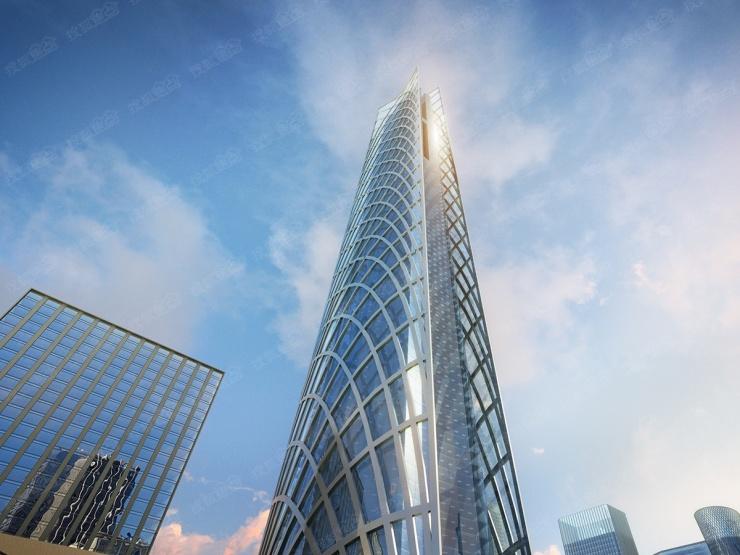 450米河北第一高楼正式在石家庄开建