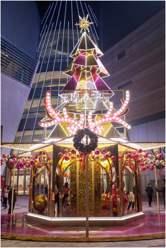 北欧圣诞魔法角落开启 杭州艺术地标掀起狂欢序幕