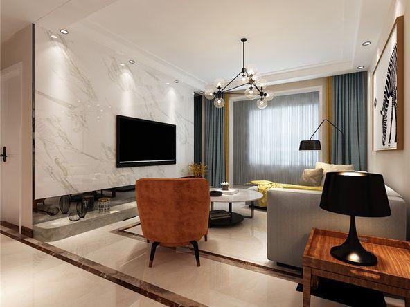 曲江美好时光三居室现代装修 样板间征集,免费验房 预算 设计