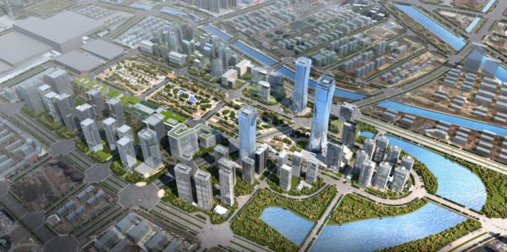 """把306米""""莲鹤方壶""""搬到空中 未来是郑州的第一高楼"""