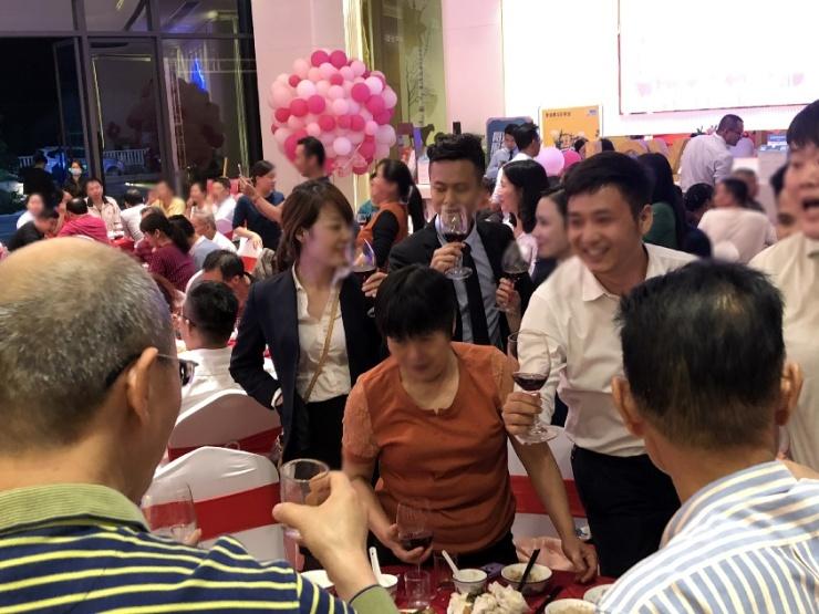 碧桂园智慧未来城业主宴百人共聚,回家就是一种仪式