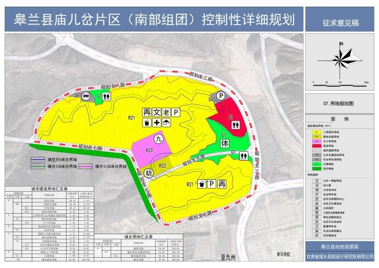 """规划面积28.86公顷! 庙儿岔片区控制性详细规划公示!"""""""