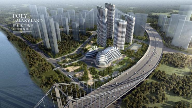 保利星河九洲 保利400万方城市战略代表作首发汉阳!