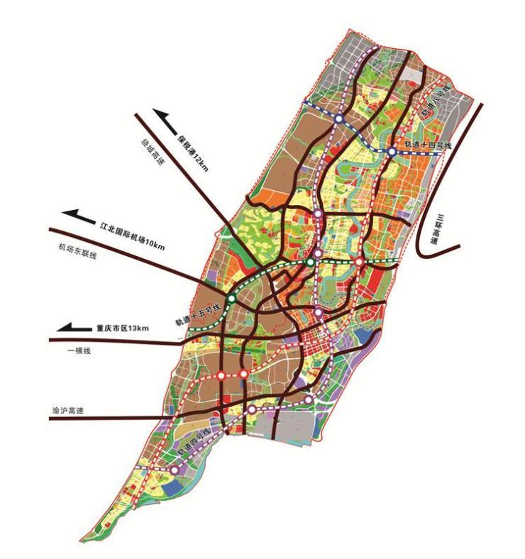 龙兴轨道干线建设提速 御临府四维立体交通帷幄城市繁华