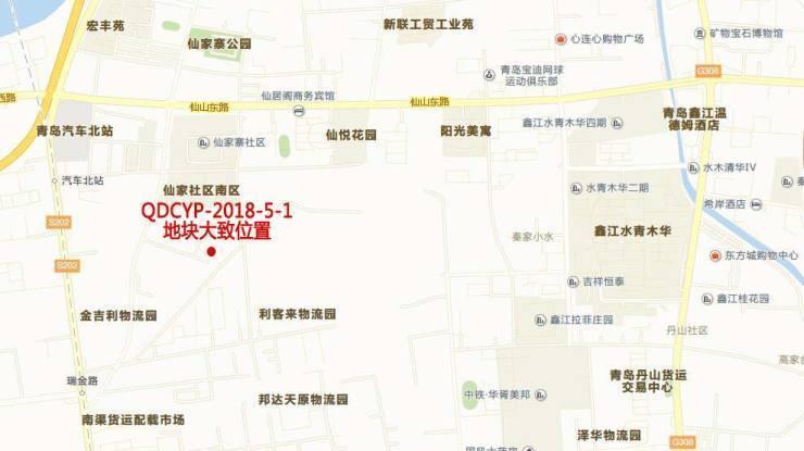 城阳8万平住宅用地中止拍卖后再上架 青岛海业4.76亿竞得