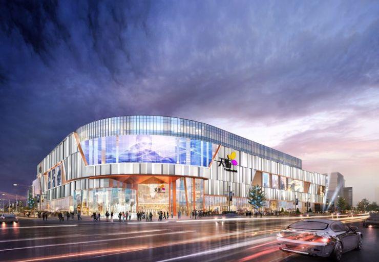 西溪天街明年开业,城西正在刷新杭州商业格局