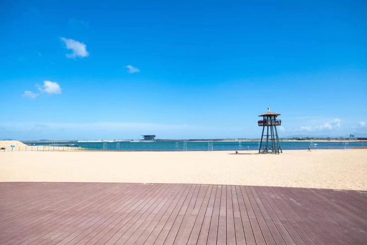重磅消息!北仑万人沙滩7月16日开放,沙滩美照抢先看