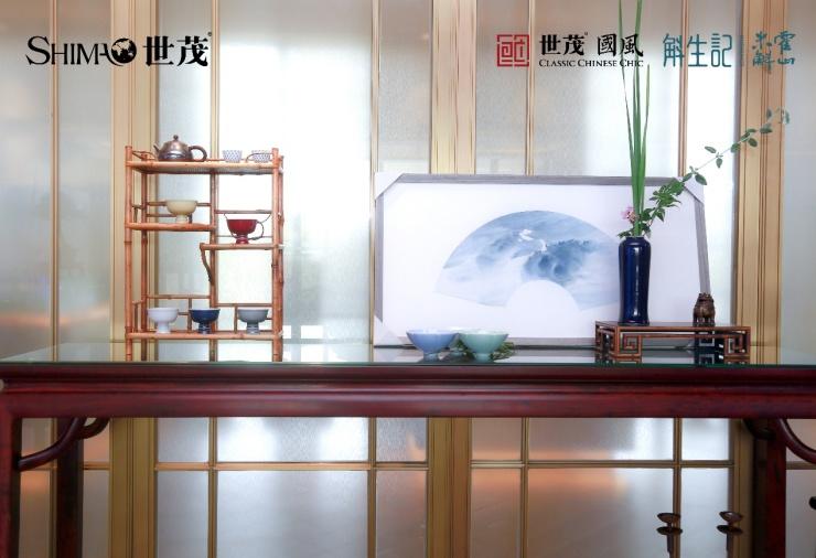 水墨古韵勾花,绘出山水里的中国