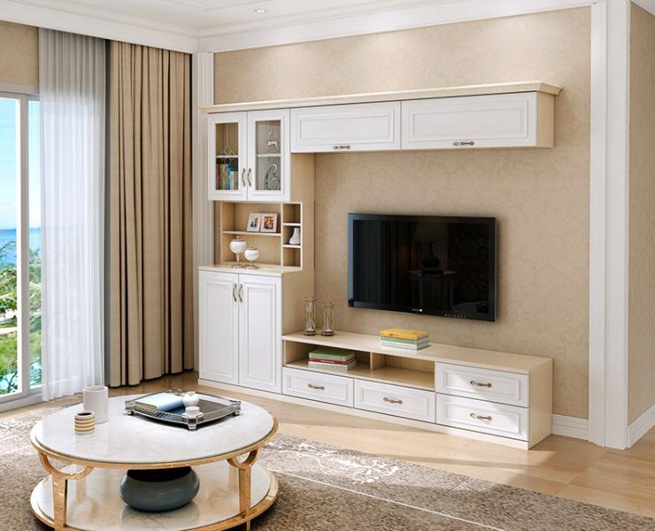 定制电视柜这样设计,让储物空间再加倍!