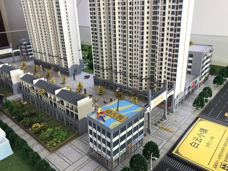 别墅有商铺,小区有步行街和广场的楼盘哪里找?