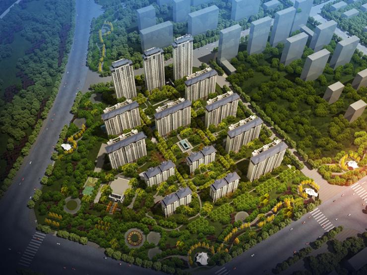 夢湖孔雀城 | 在城市里擁抱公園,在生活中播種綠色