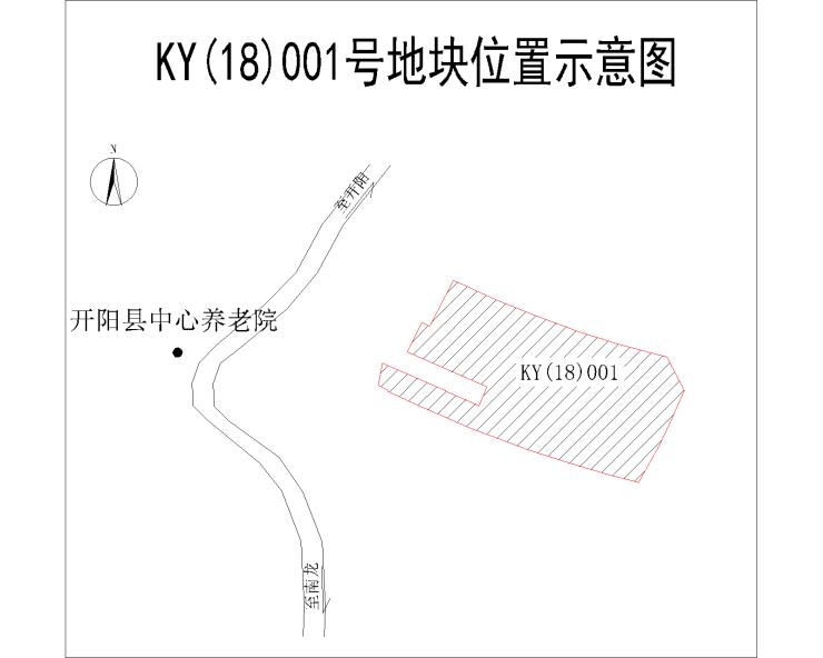 土地速报丨开阳县四块地今日挂牌出让公告