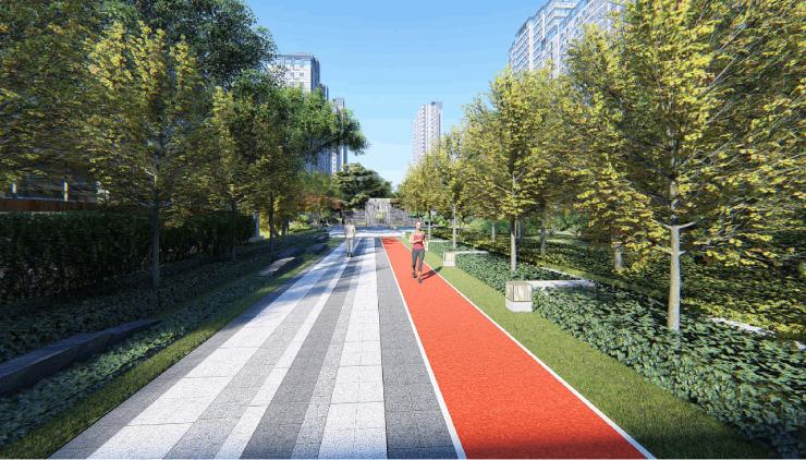 深圳园丨家门口的健身跑道,有氧健康生活从此出发!