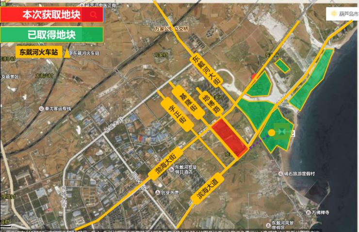 佳兆业•东戴河版图再扩 成功获取73万平优质住宅地块