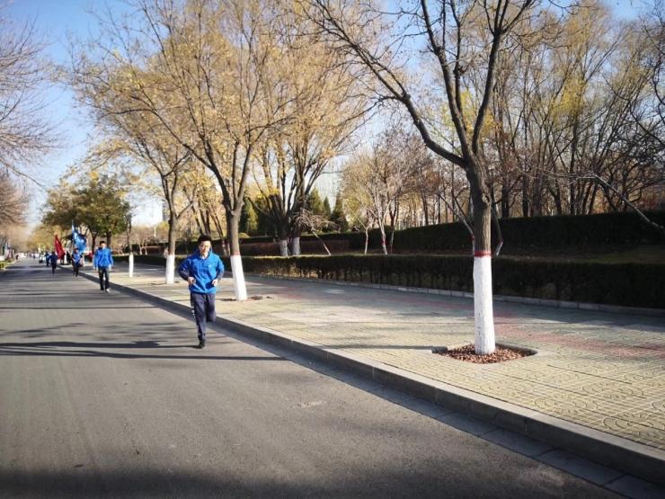 贝壳银川城市健康跑活动圆满落幕,贝壳蓝成银川西夏区主色调