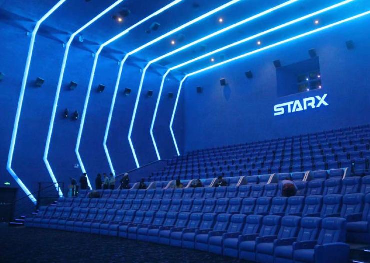 心視界 星享受!昆明星軼影城STARX廳首次放映成功