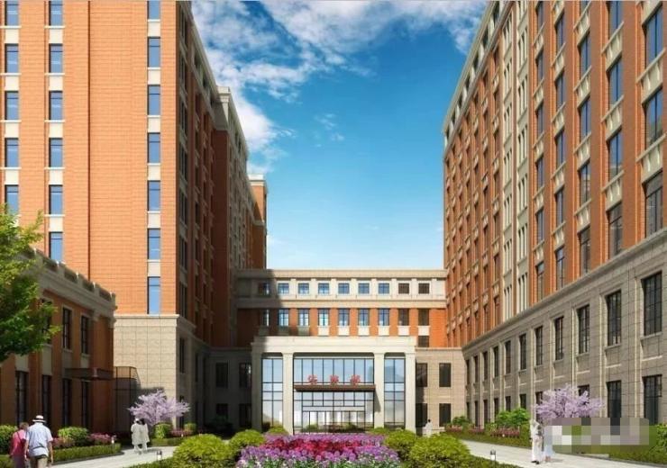 【速看】固安首家综合三甲医院终于要竣工了!设计超级酷!