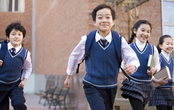 """开学季丨有一种幸福叫""""学校就在家门口"""""""