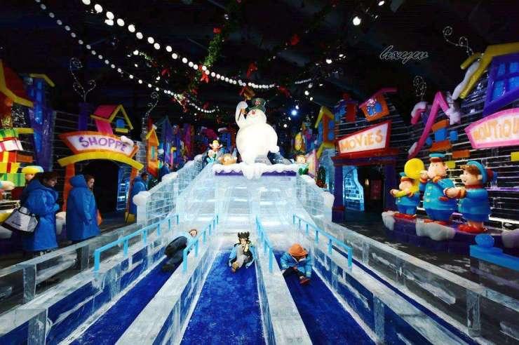 半山熊出没 极地大冒险 麓园·云玺大型冰雪世界邀您免费畅玩
