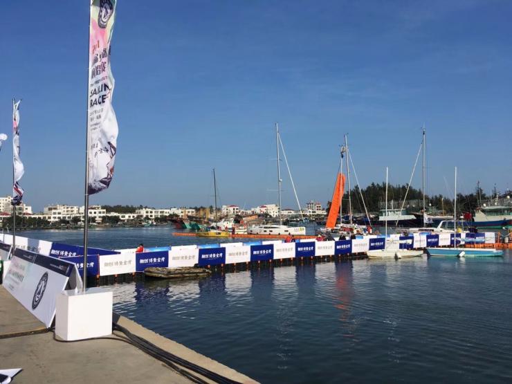 融创博鳌金湾赞助2017首届更路薄杯国际帆船赛