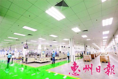 去年惠州230个重点项目完成投资643.5亿元
