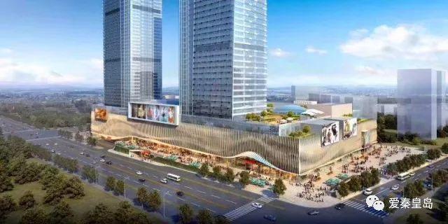 秦皇岛第一高楼最新进展 市民休闲娱乐将添新场所!